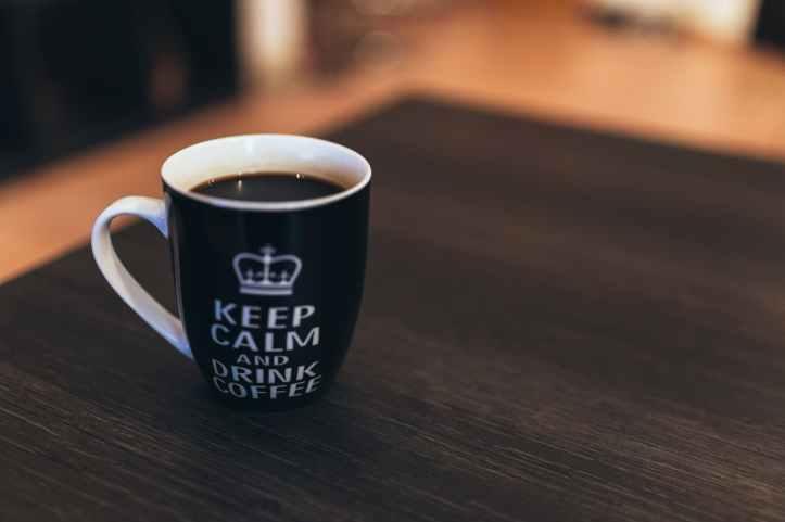 caffeine coffee cup desk